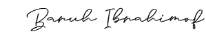 Baruh-Ibrahimof-signature